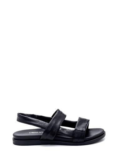Derimod Kadın Sandalet (17704) Casual Siyah
